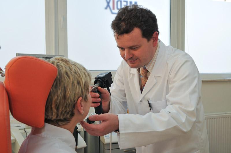 Laryngologia - badanie